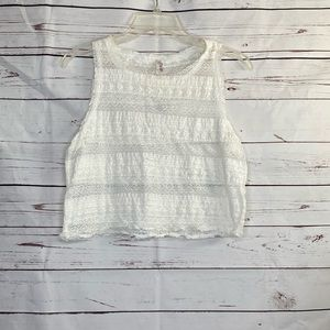 Intimately Free People Lace Cropped Top
